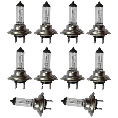 10x Ampoule H7 12V 55W