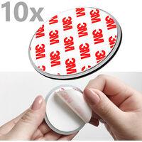 10x Nemaxx NX1 Quickfix Magnet für Rauchmelder / Funkrauchmelder / Rauchmelder - Top Qualität - Extra stark
