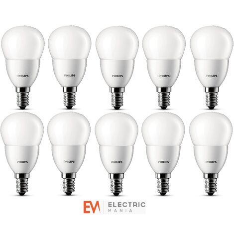 10x Philips LED Luster House Light Bulb Lamp E14 3W Warm White Energy Class A+