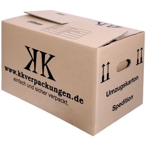 10x UMZUGSKARTONS 2-WELLIG - XXL STABIL Umzugkartons 660x360x405mm Kisten