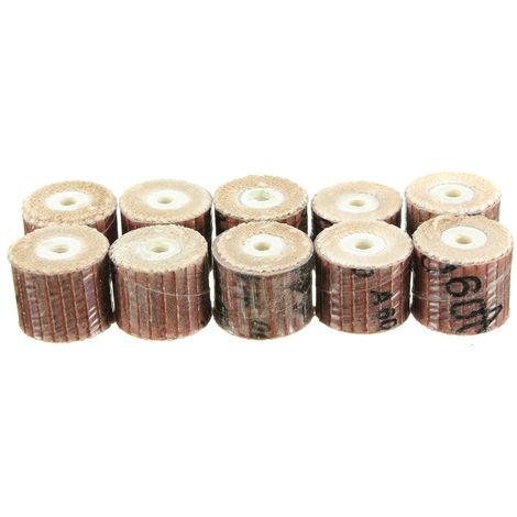 10X Wheel Sanding Polishing Drill Press Dremel Rotary Tool