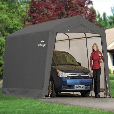 10x20 Peak Style Auto Shelter