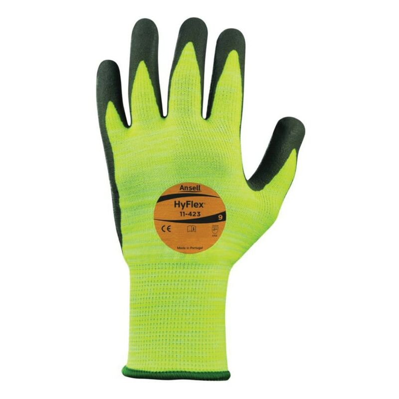 Image of 11-423 Hyflex Seamless Knitted Glove Size 9 - Ansell