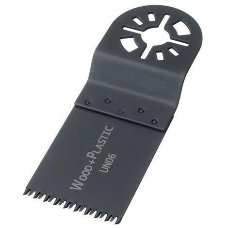 11 lames de scie oscillante universelle HCS 34 x 40 x 0,6 mm 14 TPI - Bois et plastique - ZOU00053 - Labor