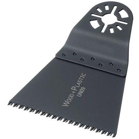 11 lames de scie oscillante universelle HCS 68 x 42 x 0,6 mm 14 TPI - Bois et plastique - ZOU00063 - Labor