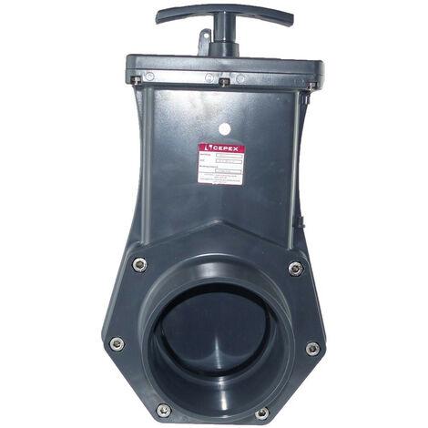 ø110 mm Vanne guillotine PVC