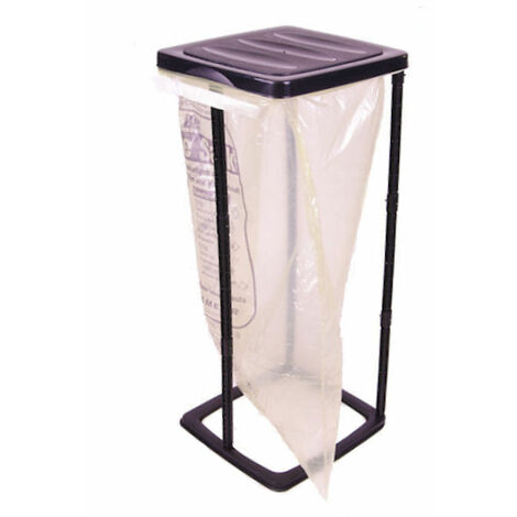 1.10 Müllsackständer 60 Liter - Farbe: SCHWARZ