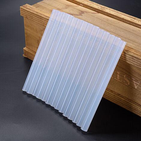 110 Stueck Transparent Heisskleber 11 mm Heissklebestifte Klebesticks Heissklebestifte 2KG Standard Heissklebepatronen