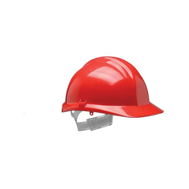 Image of 1125 F-Peak Red Helmet S03CRA - Centurion