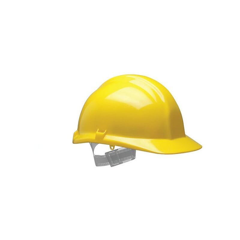 Image of 1100 F-Peak Yellow Helmet S01CYA - Centurion