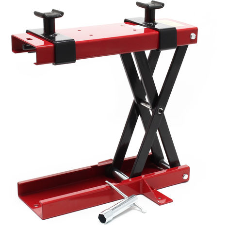 1100lb 500kg Motorcycle Mini-Lift Jack Assembly Stand Lift Table