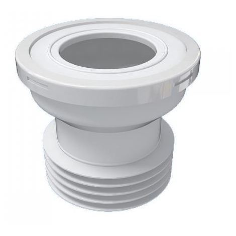 """110mm 4"""" Toilet WC Straight Waste Pan Connector Rubber Connector for Toilet Pans"""