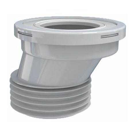 """110mm 4 """"toilettes wc décalage connecteur en caoutchouc du connecteur de pan des déchets pour cuvettes de toilettes"""