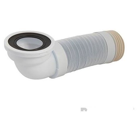 110mm Angled Flexible Pan Connector 90° - 320 - 750mm