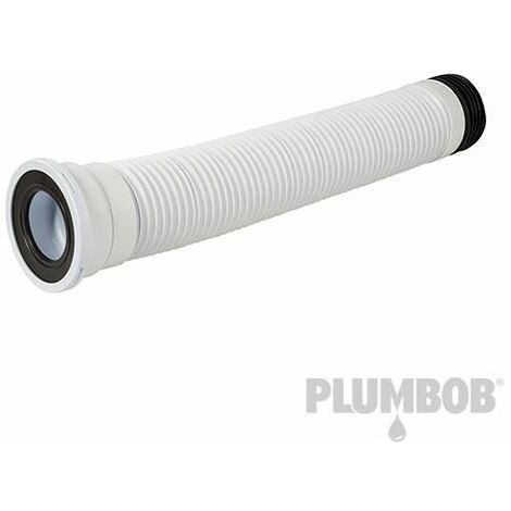 110mm Straight Flexible Pan Connector - 240 - 450mm (668001)