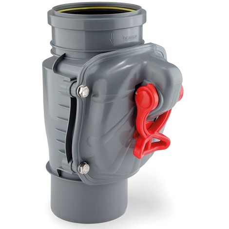 110mm Vertically Assembled Anti Flooding Backwater Valve Backflow Prevention