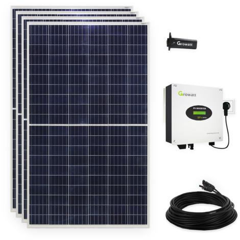 1120 Watt Plug & Play Solaranlage Photovoltaikanlage mit WiFi, Halbzellen