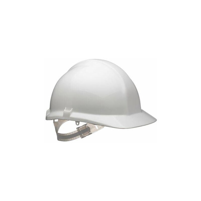 Image of 1125 White Reduced Peak Helmet S17WA - Centurion