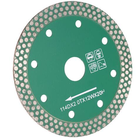 114 * 2,0 * 20 mm, broca de sierra de diamante de corte en seco