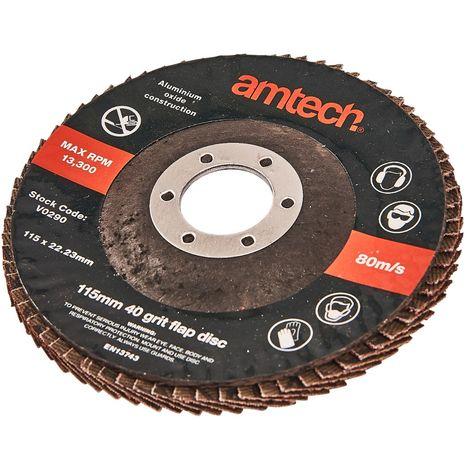 115mm Flap Disc (40 Grit)