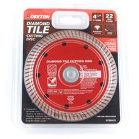 115mm Turbo Tile Diamond Cutting Disc Angle Grinder Blade Porcelain Stone 4.5 Inch