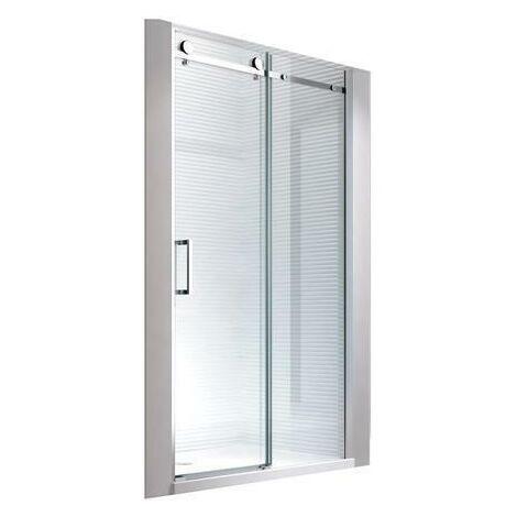 """main image of """"115x195cm Porte de niche cabine de douche - sans bac de douche"""""""