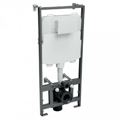 1.17m Wall Hung WC Frame & Concealed Cistern