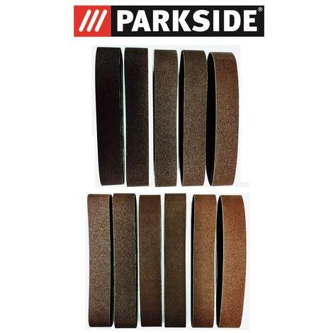 11er Set Schleifband (Körnung 60/80/120) Parkside