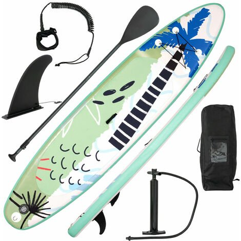 """main image of """"11FT Inflatable Stand Up Paddle Board SUP Surfboard Adjustable Non-Slip W/Pump"""""""