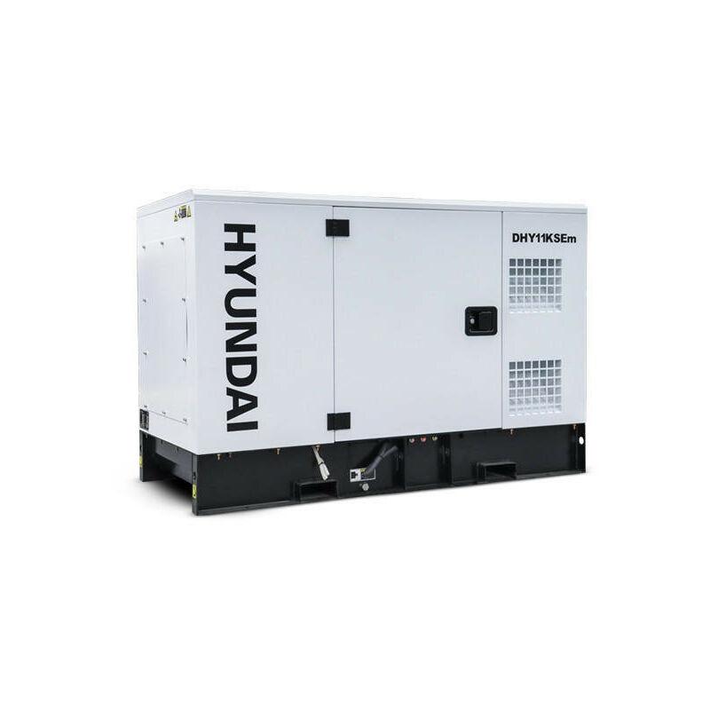 Image of Hyundai 11.2kW/14kVA Single Phase Diesel Generator | DHY11KSEm