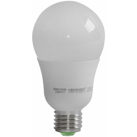 11W LED iluminante E27 lámpara 2800 Kelvin iluminación blanco cálido 1055 lumen lámpara MEGAMAN MM21046