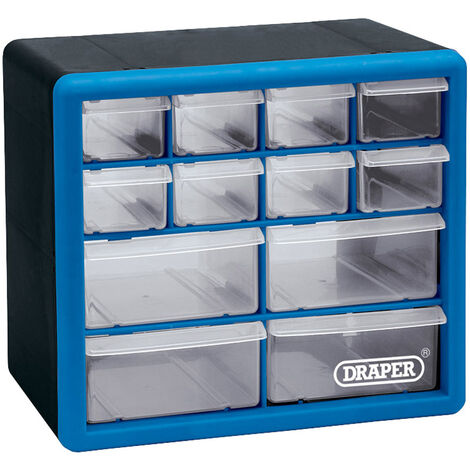 12 Drawer Organiser