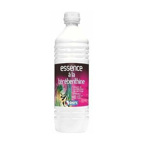 12 essence térébenthine bouteille 1 l