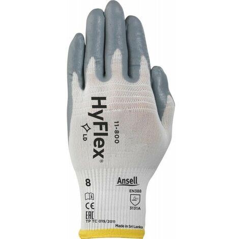 12 gant hyflex foam 11-800 supp nylon poignet tricot dos non enduit t 9