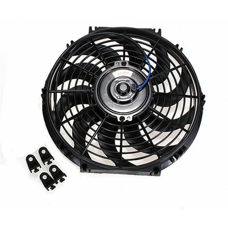 12 inch Auto Electric Radiator Fan Fan Cooling Thermostat 12V