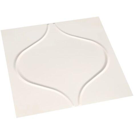 12 pcs Wall Panels 3D 0.5x0.5 m 3 m²