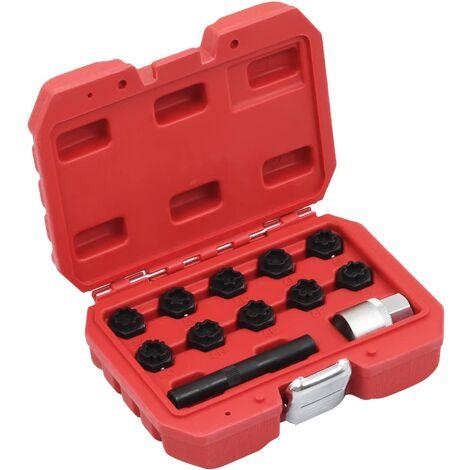 12 Piece Rim Lock Socket Set for Mercedes