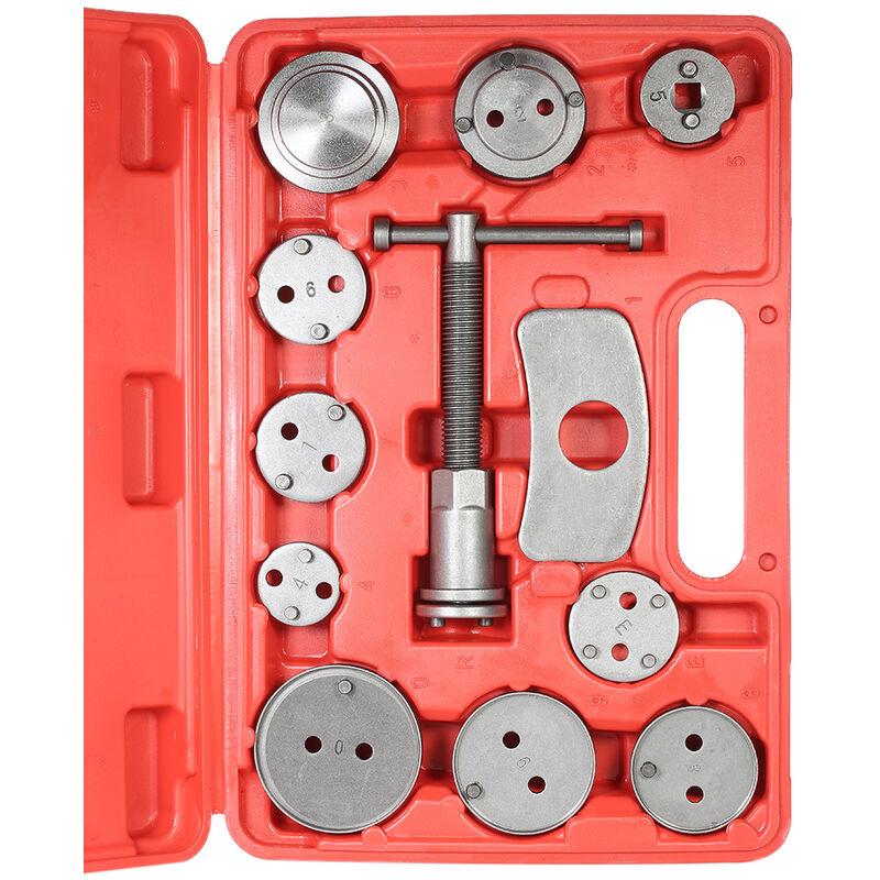 Happyshopping - 12 pieces Auto Universel Disque De Frein etrier De Voiture Vent Arriere Pad Piston Compresseur Automobile Garage Reparation Outil Kit