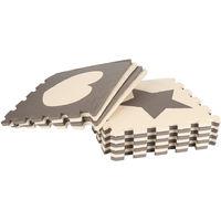 12 pièces Tapis pour Enfants Bébé Puzzle Tapis en mousse EVA 32*32*1cm