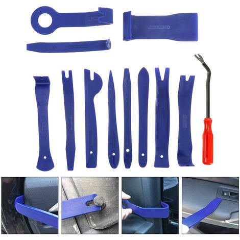 12 piezas de herramientas para el interior del coche, barra de palanca manual, eliminación de molduras de puerta