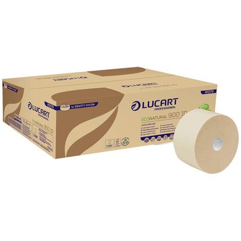 12 Rollos papel higiénico Econatural Ecolabel 202 metros