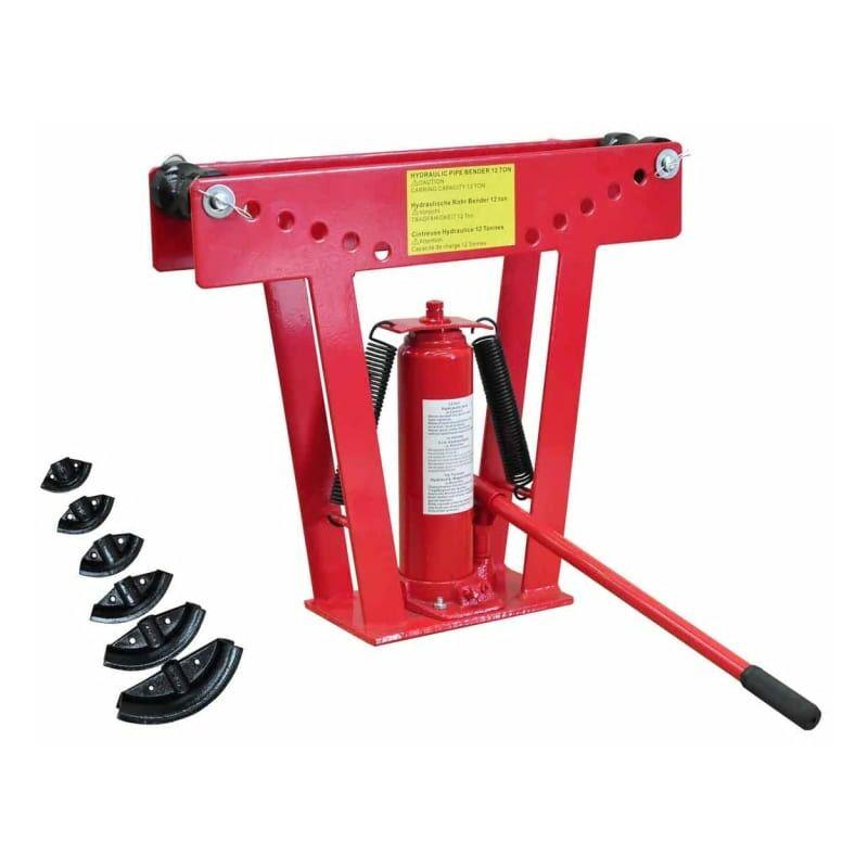 6 Druckst/ücke von 1//2-2, Pumphebel, bis 90/° EBERTH 12 Tonnen Rohrbiegemaschine
