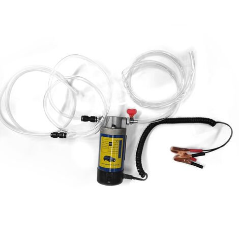 12 V 100W Portable Electrique Huile Transfert Extracteur Liquide Pompe D'Aspiration Siphon Outil Pour Auto Moto