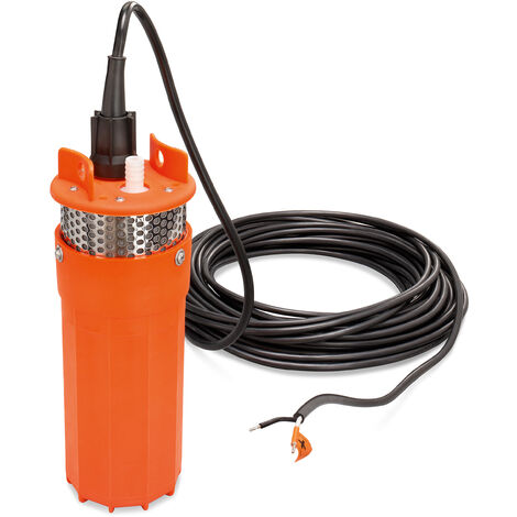 12 V pompe solaire pour fontaine profonde 30mhauteur de refoulement pompe à eau jardin esotec 100800