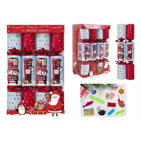 "12 X 12"" FAMILY POSTBOX & BUS CRACKERS"