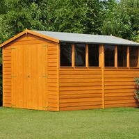 12 x 6 Overlap Shed with Double Doors