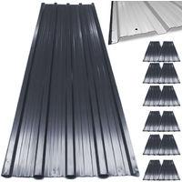 12 x Profilblech/Trapezblech 129cm x 45cm = 7 m²