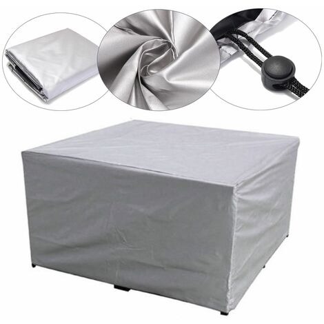 120 * 60 * 90cm PVC Cover Covers Waterproof Patio Rattan Table Cube