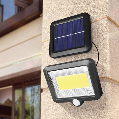 """main image of """"120 COB 98SMD LED con energía solar, sensor dividido, luces de jardín a prueba de agua"""""""