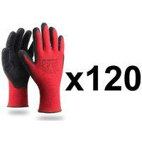 120 paires de gants de manutention générale EASY GRIP rouge KAPRIOL- plusieurs modèles disponibles
